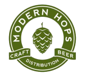 modern hops logo